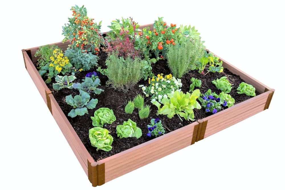 Raised Garden 2 Inch 8x8ft 2 Level