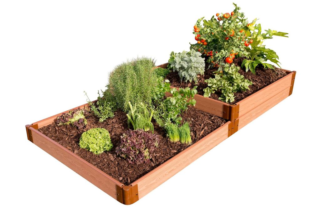 Raised Garden Terraced 2in
