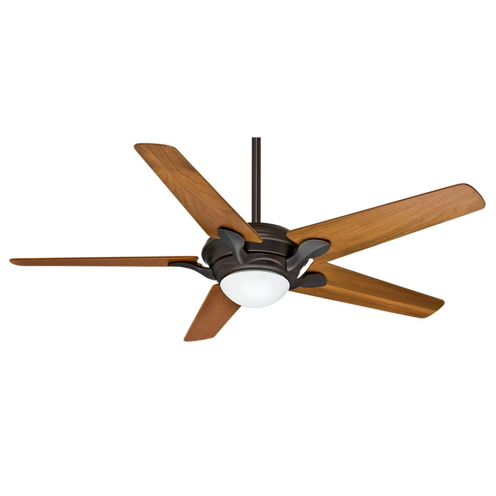 Casablanca Bel Air 56 Inch  Brushed Cocoa Indoor Ceiling Fan with 4 speed wall-mount control