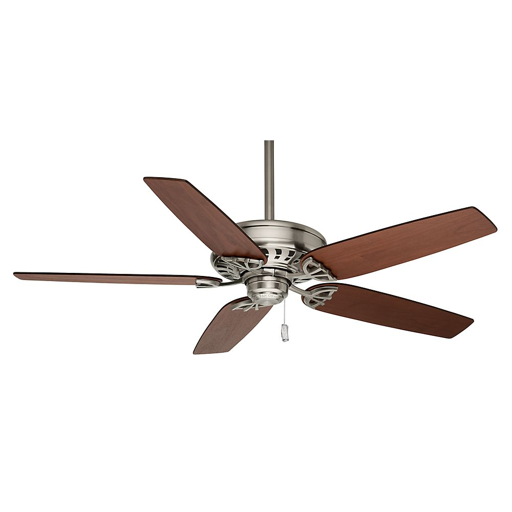 Casablanca Concentra 54 Inch  Brushed Nickel Indoor Ceiling Fan