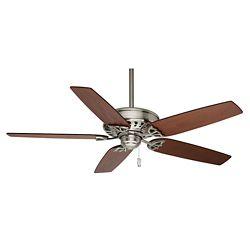 Casablanca Concentra 54-inch Brushed Nickel Indoor Ceiling Fan