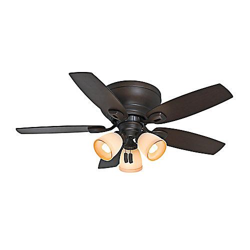 Ventilateur de plafond intérieur Durant 44 pouces Maiden Bronze