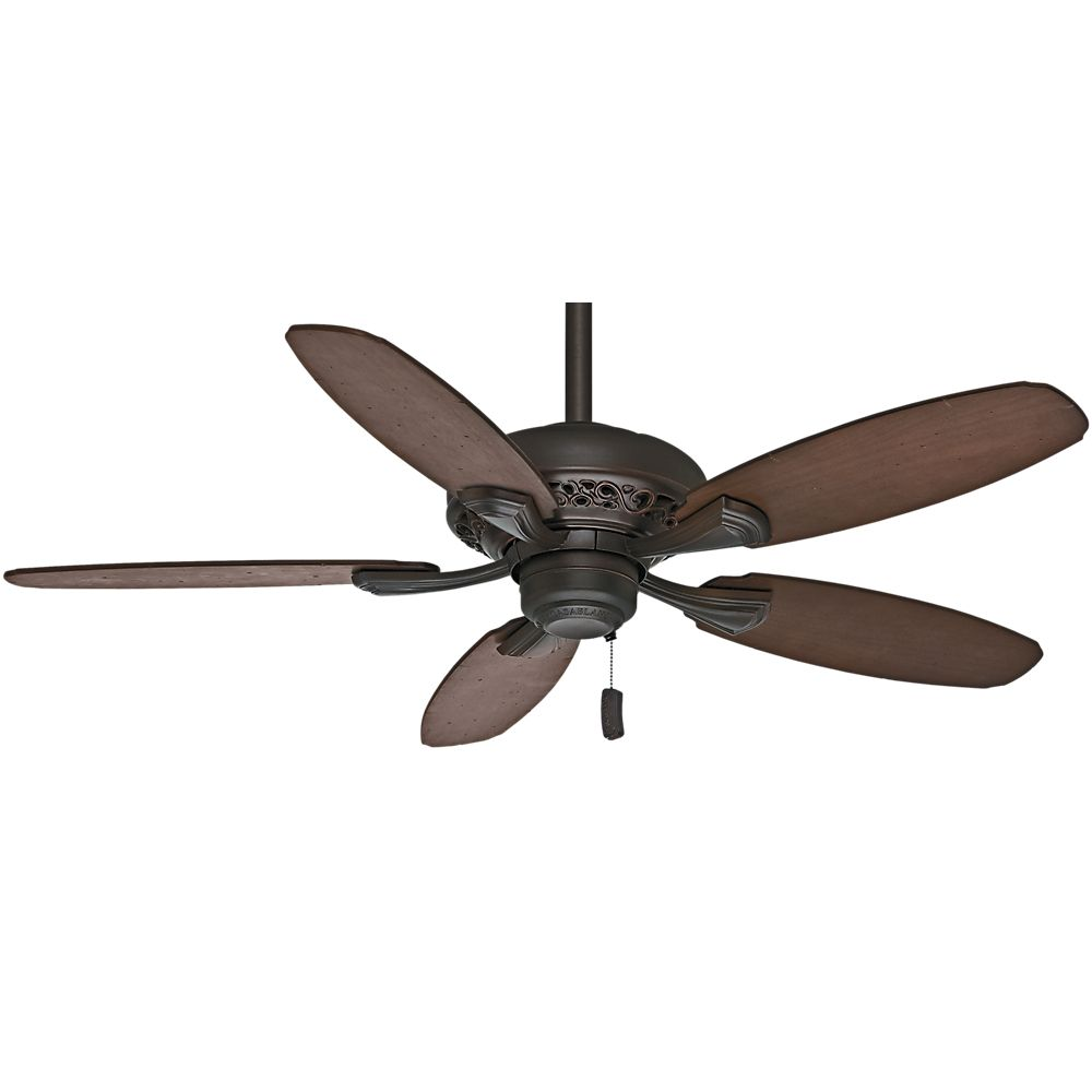 Casablanca Fordham 44 Inch  Brushed Cocoa Indoor Ceiling Fan