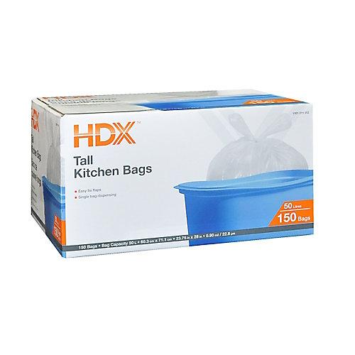 Tall Kitchen Bags 50L