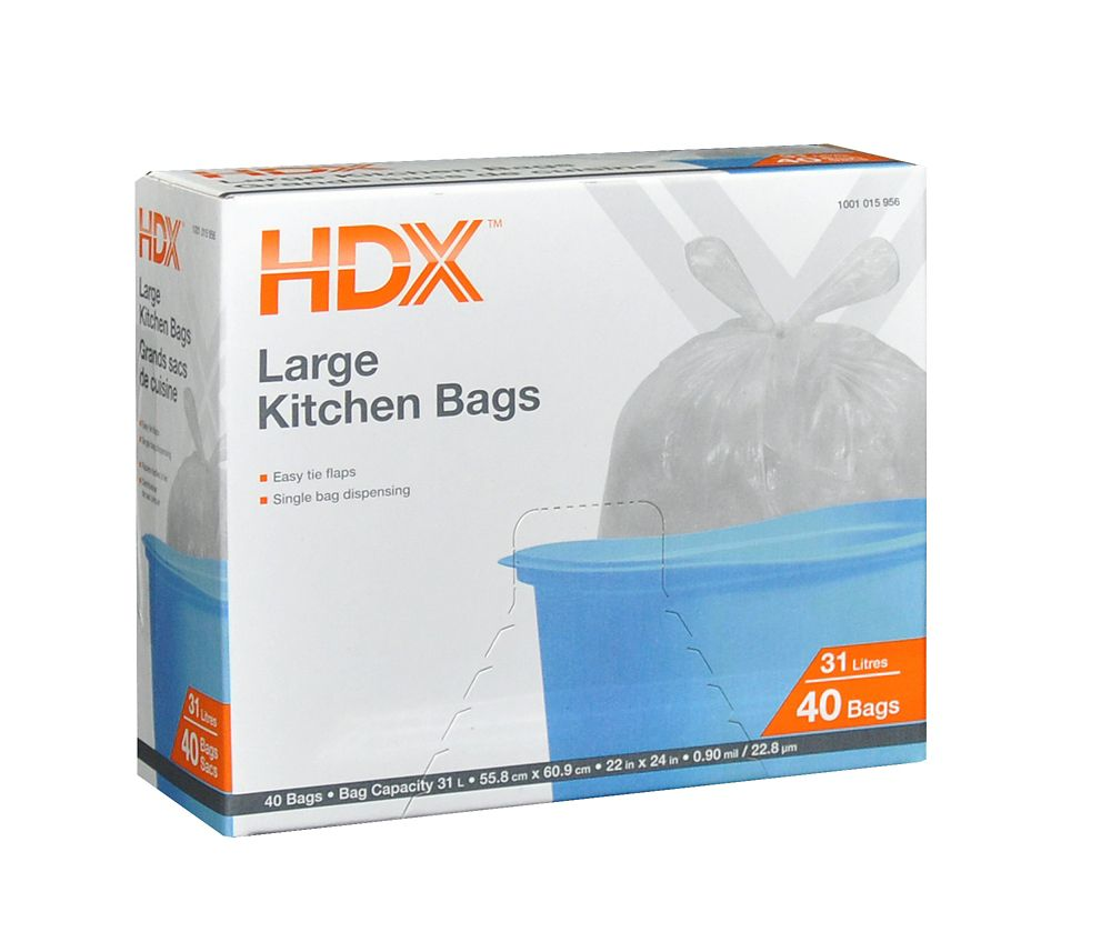 Large 31L Kitchen Bag (40-Pack)