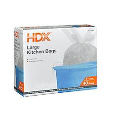 Large 31L Kitchen Bag (40-Pack)