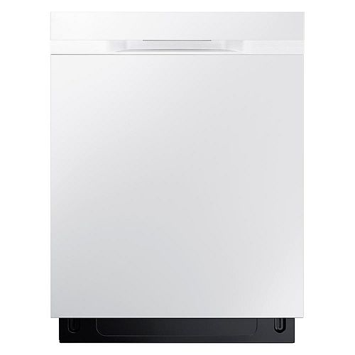Samsung 24-inch Top Control Dishwasher in White with Stainless Steel Tub  - ENERGY STAR®, 48 dBA