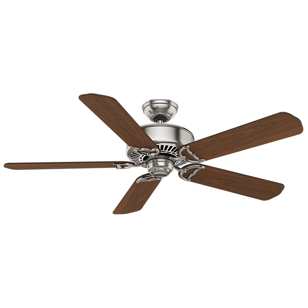 Panama DC- 54 Inch  Brushed Nickel- 6 speed remote control