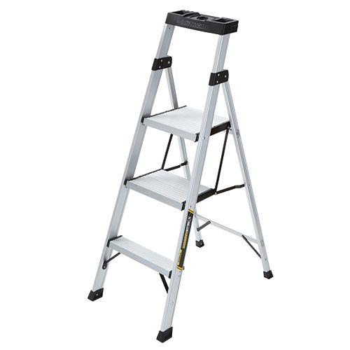 Gorilla Ladders 4.5 Feet Aluminum Hybrid Ladder