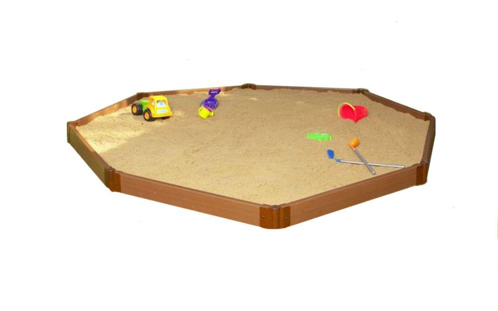 Sandbox Octagon 2 Inch 10x10ft 1 Level