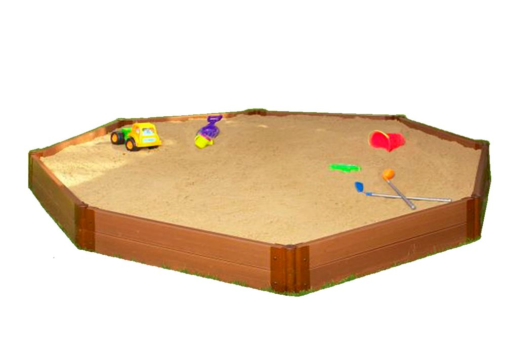 Sandbox Octagon 2 Inch 10x10ft 2 Level