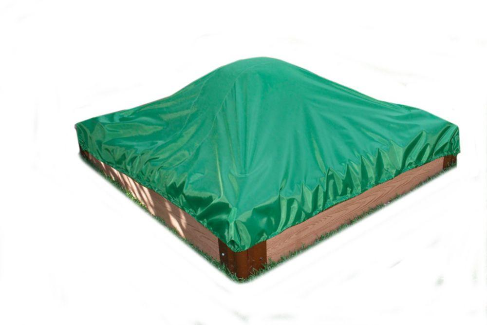 Sandbox Square 2 Inch 4x4ft 1 Level c/w Cover