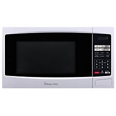 1.1 Cu. Ft. Countertop Microwave White