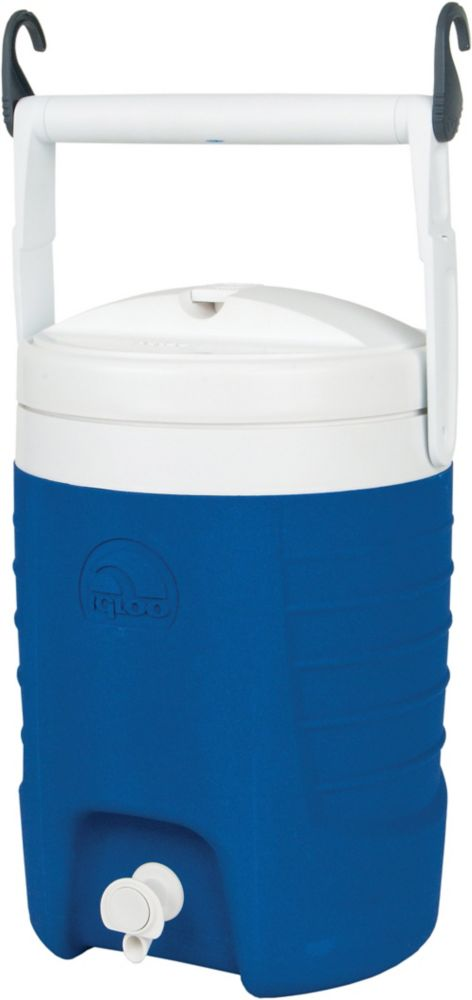 Sport Jug Hard Sided Cooler With Hooks - 7.6 Litres - Majestic Blue