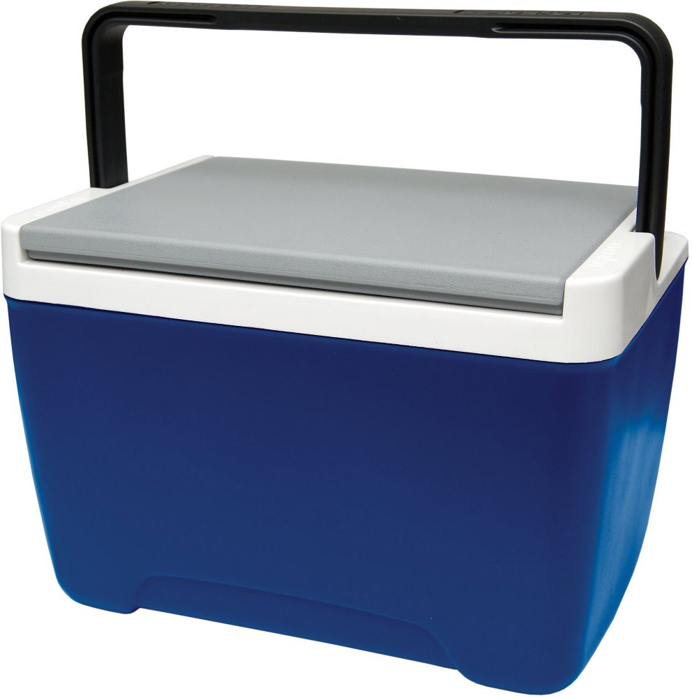 Island Breeze 9 Hard Sided Cooler, 8 Litres - Majestic Blue/Ash Grey