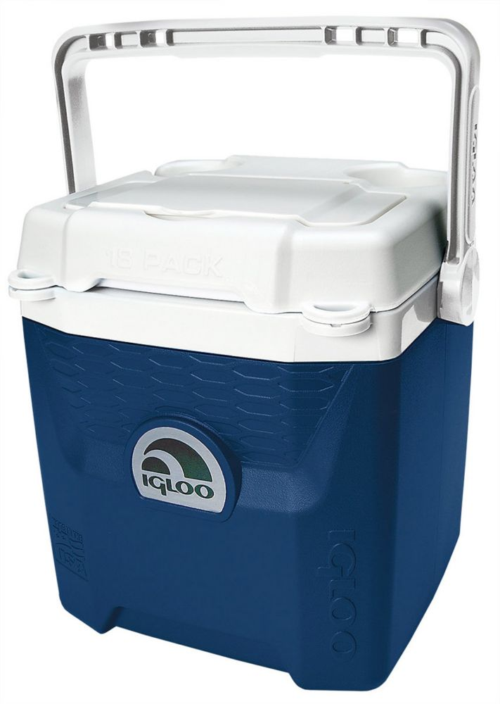 Quantum Hard Sided Cooler, 11 Litres - Midnight Blue