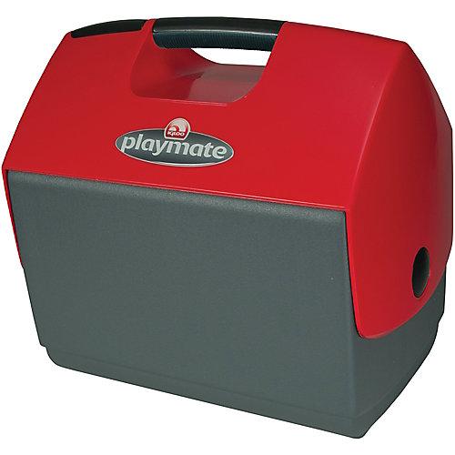 Glacière Playmate Elite Ultra d'Igloo - 15 litres - Carbonite-Étoile rouge