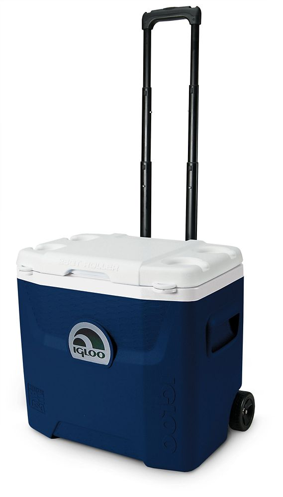 Quantum Hard Sided Cooler, 26 Litres - Midnight Blue