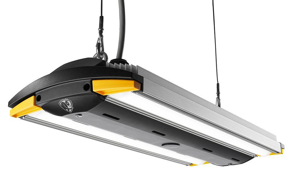 2 Feet  Anodized Aluminum LED Garage Light with Occupancy Sensor