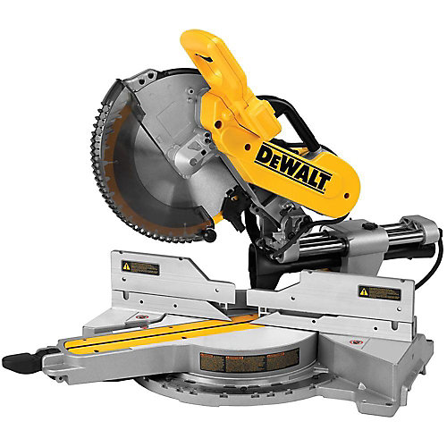 15-amp Corded 12-inch Double-Bevel Sliding Compound Miter Saw