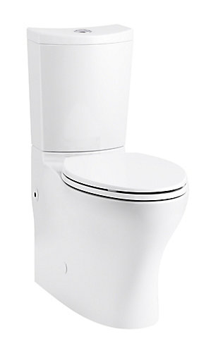 Persuade 2 Piece Dual Flush Elongated Bowl Toilet