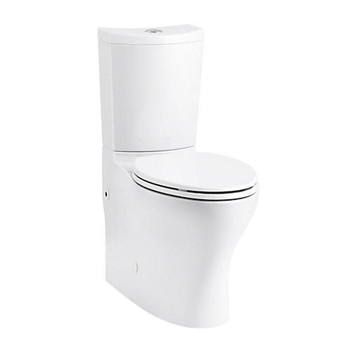 Persuade 2-Piece Dual-Flush Elongated Bowl Toilet