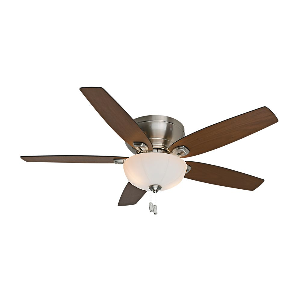 Casablanca Durant 54 Inch  Brushed Nickel Indoor Ceiling Fan