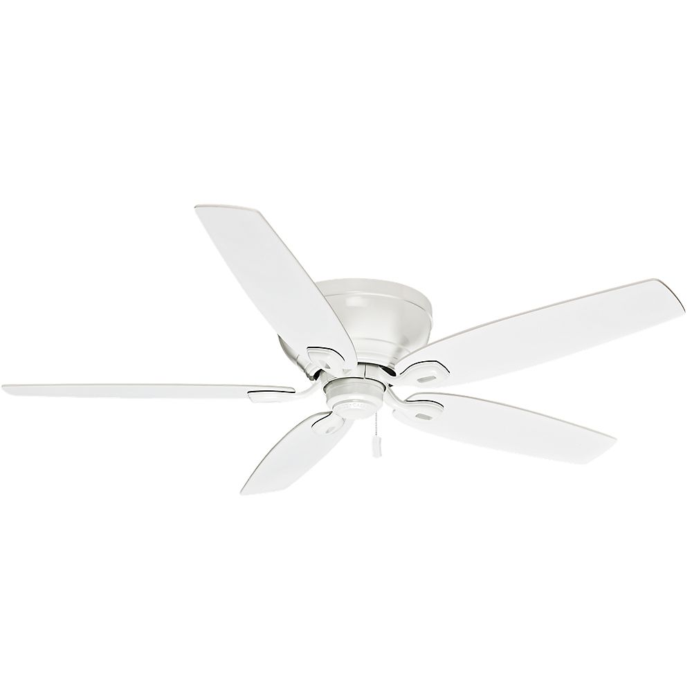 Casablanca Durant 54 Inch  Snow White Indoor Ceiling Fan