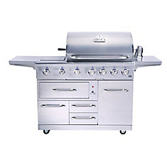 NXR 7-Burner 80,000-BTU Gas BBQ