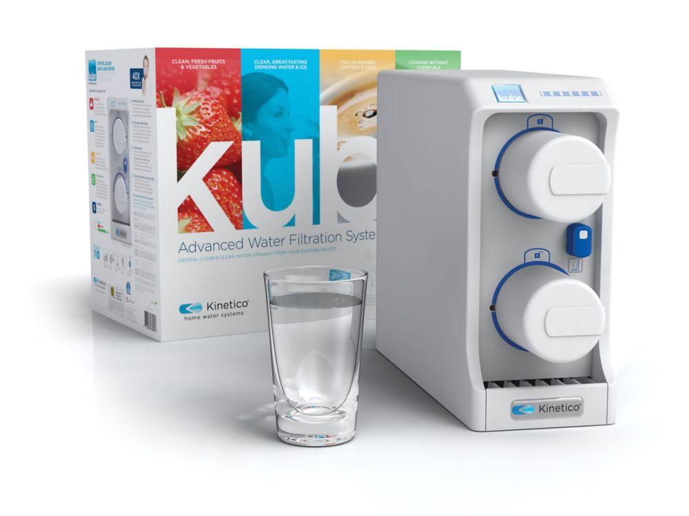 Kube - Système évolué de filtration d'eau