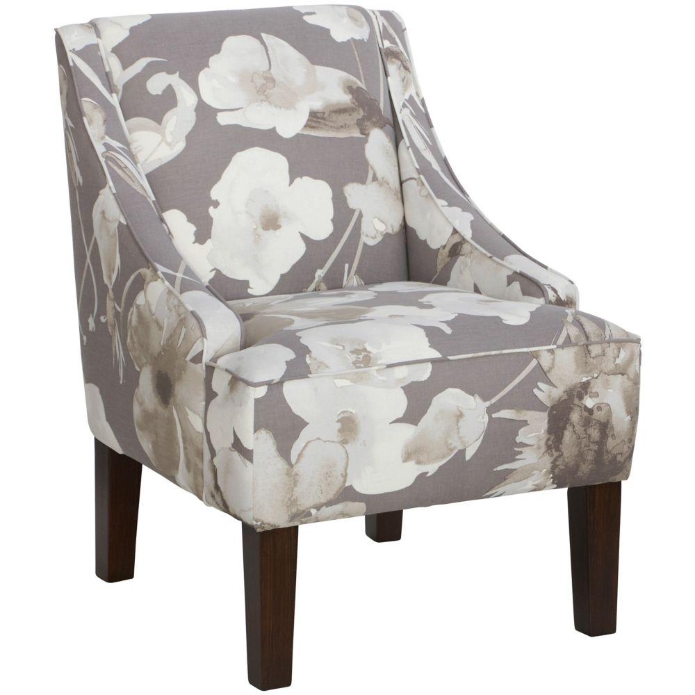 Chaise rembourrée en adagio driftwood