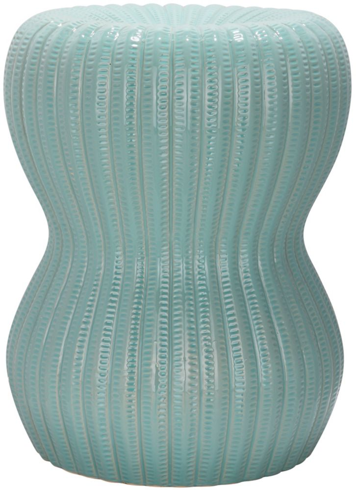 Sensational Safavieh Lattice Coin Patio Stool In Robins Egg Blue The Alphanode Cool Chair Designs And Ideas Alphanodeonline
