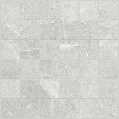 Sassi Pico Grey Inch X Inch HD Ceramic Mosaic Tile Sq Ft - 2 inch by 2 inch ceramic tiles