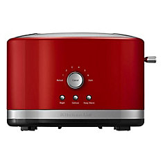 2-Slice Toaster With High Lift Lever in Empire Red