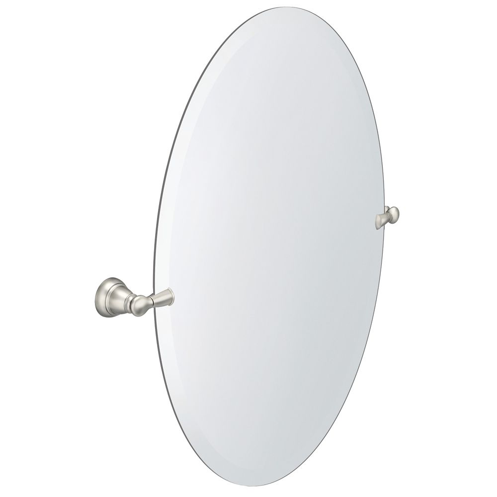 home depot bathroom mirrors. Frameless Pivoting Wall Mirror In Brushed Nickel Home Depot Bathroom Mirrors R