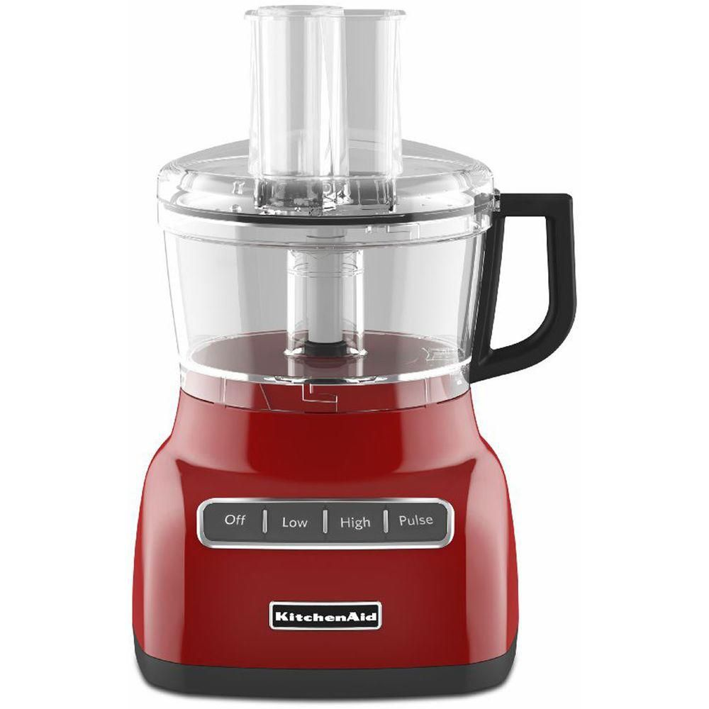 7-Cup Food Processor in Empire Red