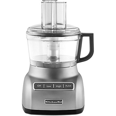 KitchenAid 7-Cup Food Processor in Contour Silver | The Home Depot on severin food processor, oster food processor, vegetable food processor, shop food processor, aroma food processor, a food processor, breville food processor, cuisinart food processor, kenwood food processor, chef's mark food processor, whole food processor, kidsline food processor, commercial food processor, ninja food processor, best food processor, small food processor, mini food processor, frigidaire food processor, ice cream food processor, black and decker food processor,