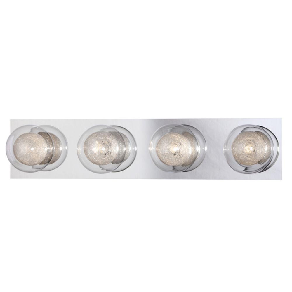 Cambria Collection, 4-Light Chrome Bathbar