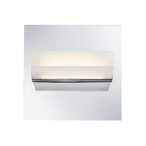Olson Collection 1-Light Chrome LED Wall Sconce