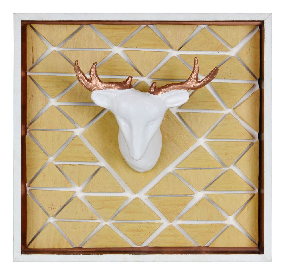 Deer Mount Wall Décor