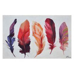 Ren-Wil Feather Bliss Canvas Art