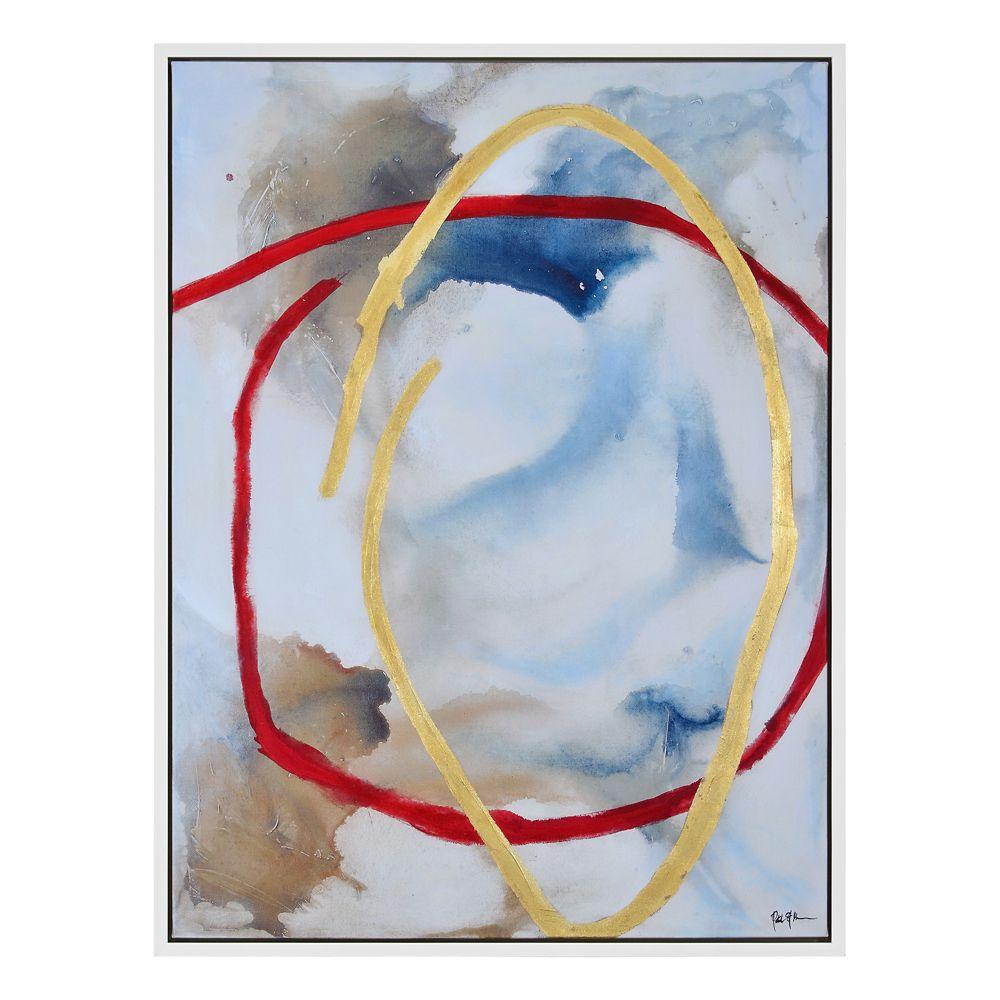 The Crimson Pinnacle Canvas Art