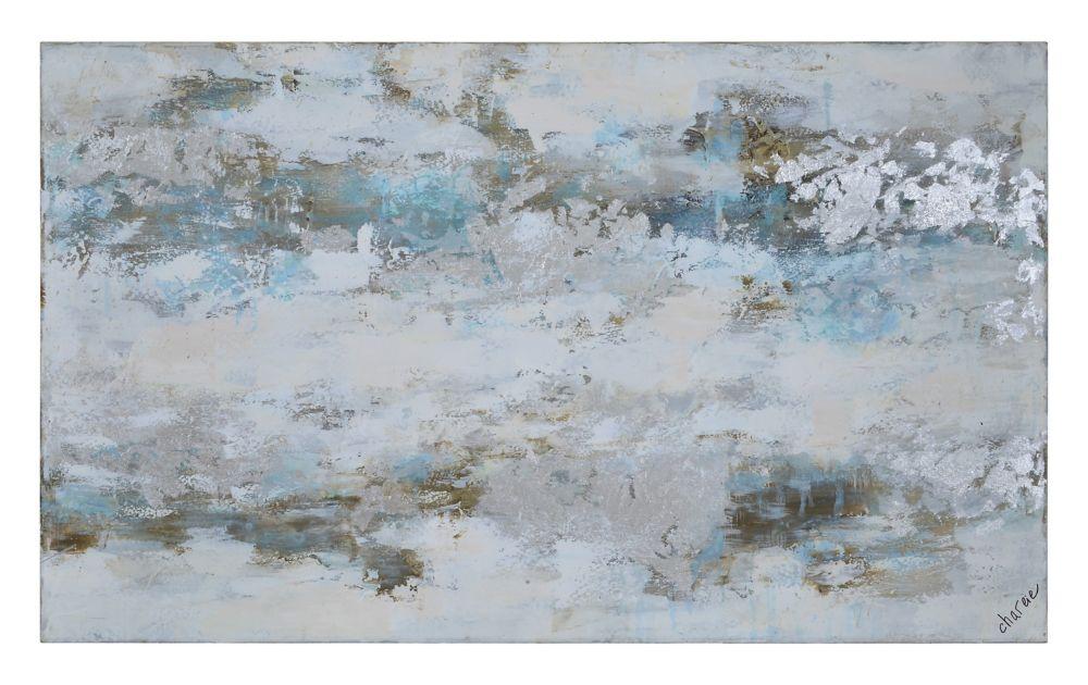 Winter's Grace Canvas Art