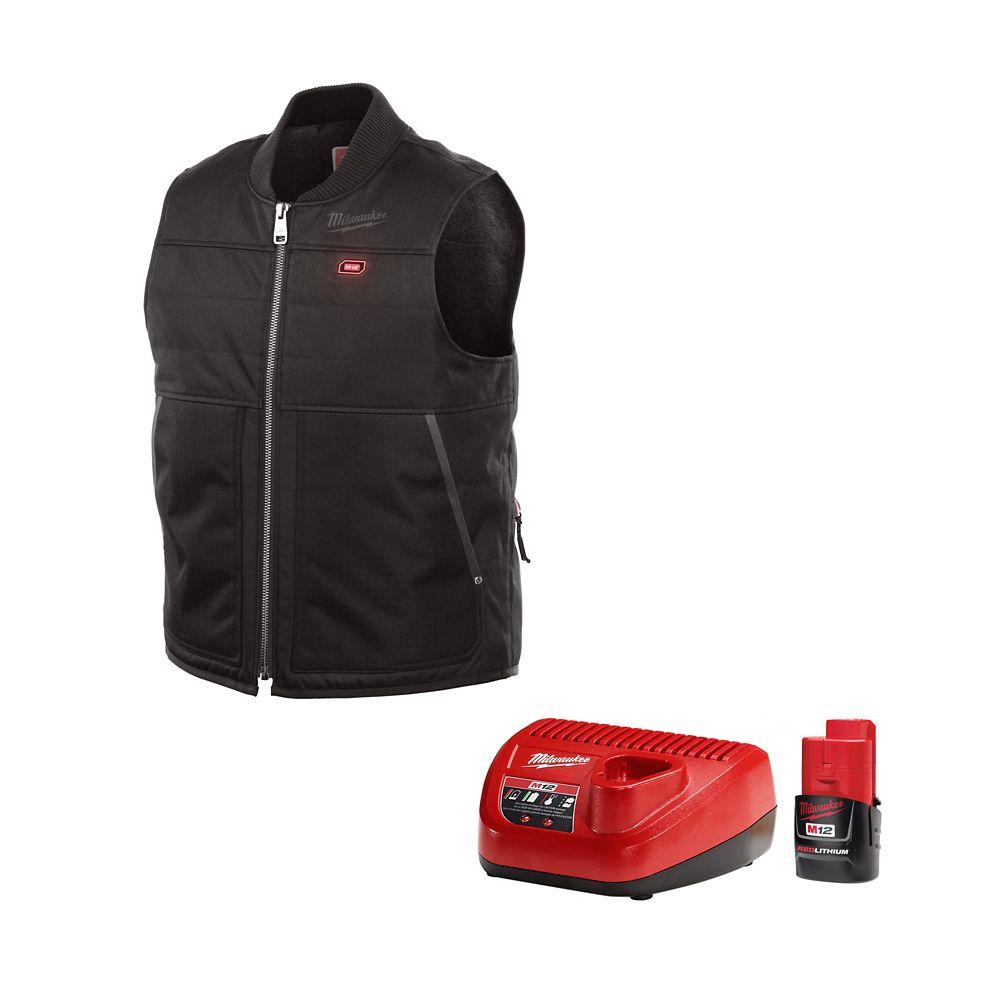 Milwaukee Tool M12 Heated Vest Kit - Black - XL