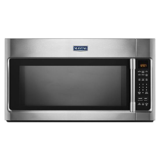 2.0 cu. Feet Over-the-Range Microwave with Sensor Cooking & Stainless Steel Cavity