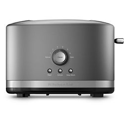 KitchenAid 2-Slice Toaster With High Lift Lever in Contour Silver
