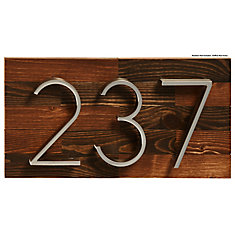 Rustic Wood Address Plaque, Small
