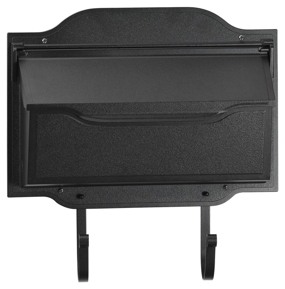 Luxurious Contemporary Mailbox, Black