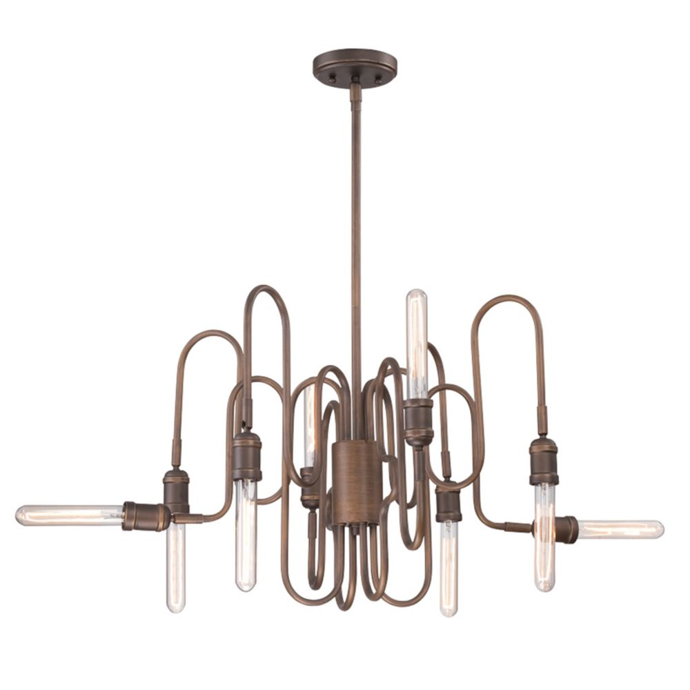 Briggs Collection, 8-Light Oil Rubbed Bronze Chandelier