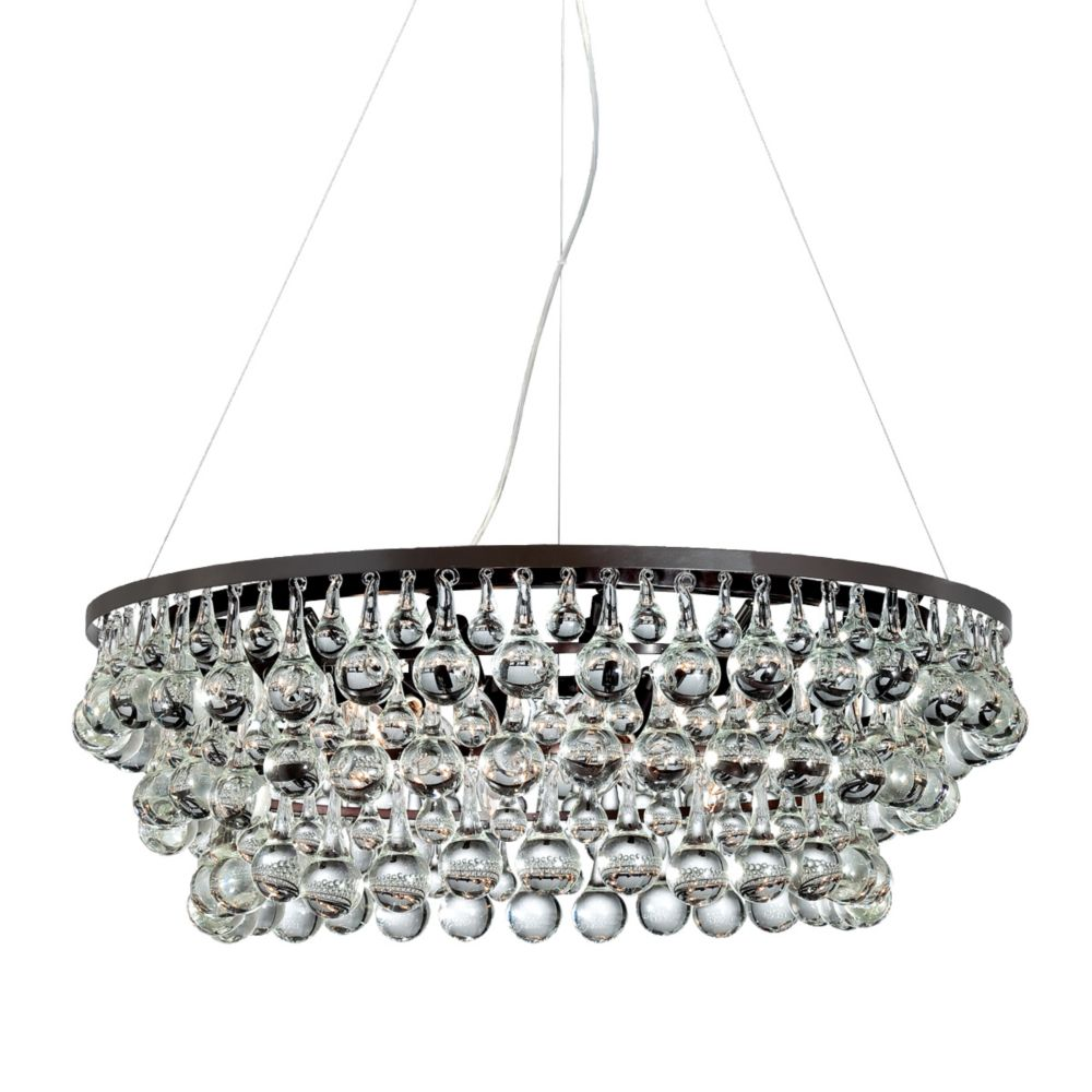 Canto Collection, 12-Light Oil Rubbed Bronze Chandelier
